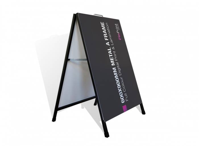 600x900mm Steel A Frame | Sidewalk Sign
