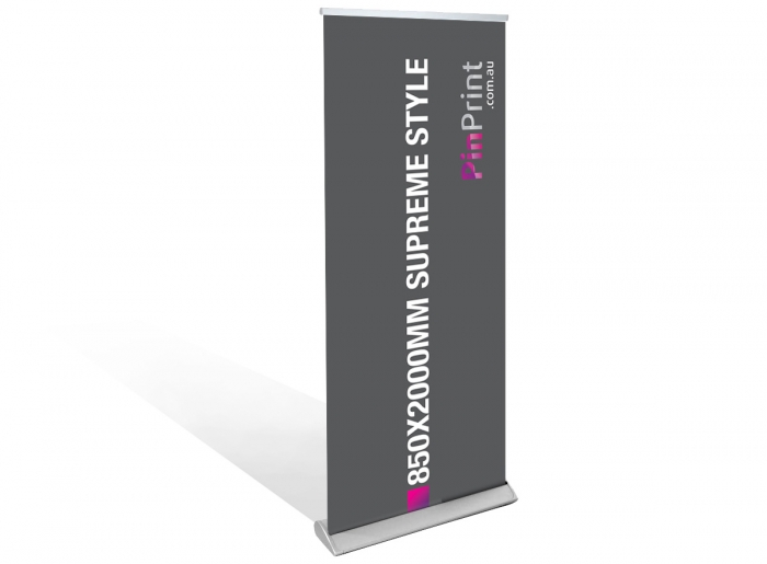 Supreme 850x2000mm Pull Up Banner