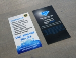 150gsm double-sided DL flyer printing Sydney