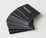 0.76mm  credit card quality and size gift cards