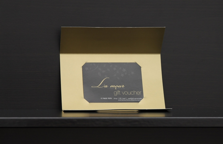 Luxury Gift Voucher Kit Gift Cards And Vouchers